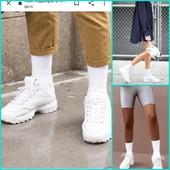 Белые носки в тренде!В лоте 10 пар George
