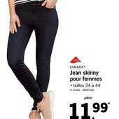 стильные супер скинни фит, джинсы, от Esmara.