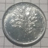 Монета Ватикана 50 лир 1970