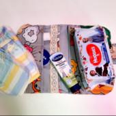 Органайзер для памперсов и салфеток в прогулочную сумку для коляски