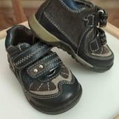 Детские ботиночки Bubblegummers. Чехия. Кожа.