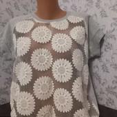 Блуза женская,размер 54,спинка из мягкой плотной ткани