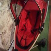 Прогулочная Коляска трёхколёсная  складывается в дорожную сумку