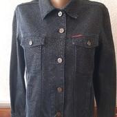 Стильный джинсовый пиджак р.L, фирменный, качество!