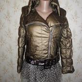 Новинка осени ! Куртка- косуха с камнями, 44-46размер.