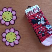 Наборчик яркие носочки девочке Минни Маус Disney 27-30, 31-34