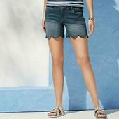 esmara джинсовые стрейчевые шорты евро 40+6
