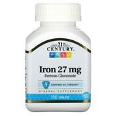 Железо,110 таблеток, 21st Centurу, CША