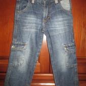 Б.у. джинсы, рост 98, Турция