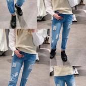 Хитярные весенние джинсы.