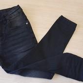 Чорні джинси скіни на дівчинку, розмір 122, бренд hip&hopps