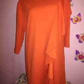 Новое яркое трикотажное платье-туника батального размера от Avon. 22-24 р.,наш 56-60.