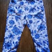 Фирменные летние штанишки девочке на 2-3 года