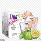 LipoX9 - средство для похудения, 10 саше