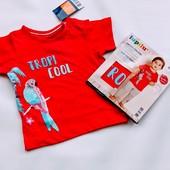 Хлопковая футболочка Lupilu ( Германия) Размер 86/92 ( 12-24 мес)