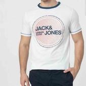 Стильная футболка Jack & Jones S, 100% хлопок