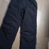 Термо полукомбинезон черный, теплый комбинезон, зимние штаны Skout р 152