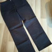 Темно сині стречеві джинси в полоску, в ідеалі