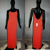 Качество! Стильное натуральное/вискоза макси платье от американского бренда Papaya