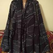 тонкий шарф палантин
