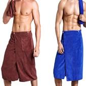 Полотенце-- килт для мужчин Размер 1, 5 х 0, 65 Микрофибра
