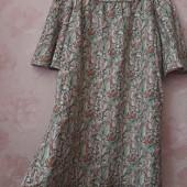 Красивое хлопковое платье с открытыми плечами ! УП скидка 10%