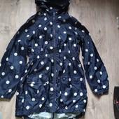 Куртка ветровка дождевик next на 11-12 лет в хорошем состоянии