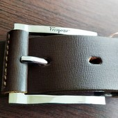Кожаный ремень ручной работы (унисекс)