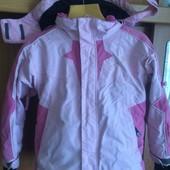 Куртка, внутри флис, весна, p. 6 лет 116 cм, Extend. состояние хорошее