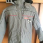 термо Куртка, мембрана, весна, внутри флис, размер 152 см. Obscure. состояние отличное