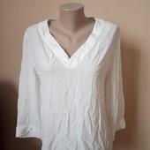 Фірменна біла блузка, в ідеальному стані, як нова, 10% знижка на УП