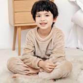 Шикарная плюшевая детская пижама домашний костюм унисекс. Цвет - фото 3!