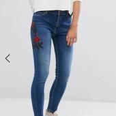 Стильные джинсы скинны Denim Pimkie на подростка. См.замеры! Сост.отл!