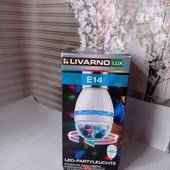Обертова диско-лампа для вечірок Livarno Lux, Lidl