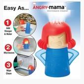 Паровой очиститель микроволновки Angry Mama\ Энгри Мама