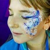 Грим-краска для лица Face Painting! .