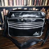Черная спортивная сумка Adidas, вместительная, копия