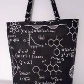 Формулы! Оригинальная, стильная практичная сумка!
