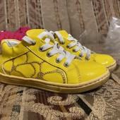 Кожаные кроссовки для вашего малыша