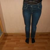 Новые джинсы Bacco 24-25 размера, узкие, синие, сток с Италии