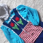 Пижама для девочки 7-8 лет