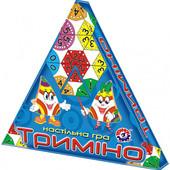 Настольная игра для детей «Тримино» ТехноК на украинском языке.