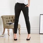 Комфортные брюки 7/8 от Tchibo(Германия), р. наши: 42-44 (36 евро), темно-синие