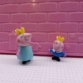 герои из свинки пеппы 2шт