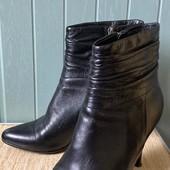 Ботинки из натуральной кожи, низкая цена