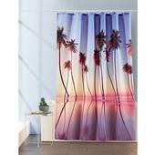 Необычная красивая штора занавеска тканевая для душа ванной 180х200см Германия
