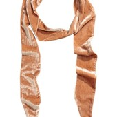 Велюровый шарф H&M