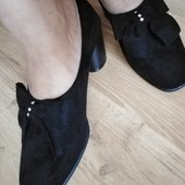 замшевые туфли. мой пролет