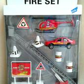 Игровой набор Big Motors Пожарная служба (JP600) (металл,пластик)