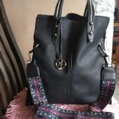 Большая мягкая женская сумка Tommasini